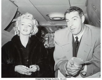 02 (Marilyn Monroe and Joe DiMaggio) from The Honeymoon Series