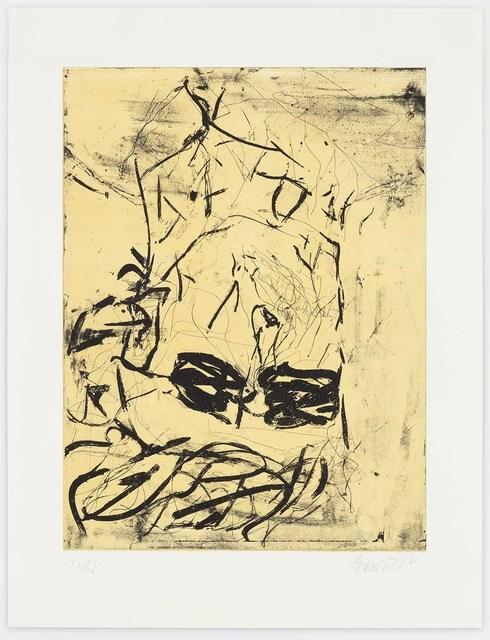 , 'Rauschenberg (Yellow),' 2018, Alan Cristea Gallery