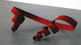 , 'Untitled (Red Ribbon),' 2011, Galerija Gregor Podnar