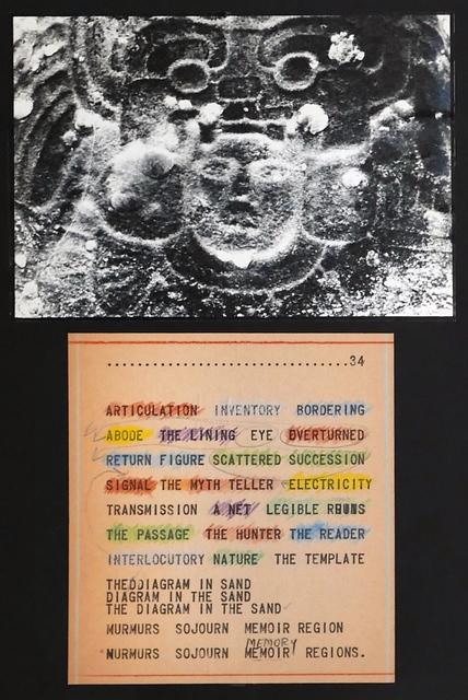 , 'The Diagram in the Sand I,' 1970, Henrique Faria Fine Art