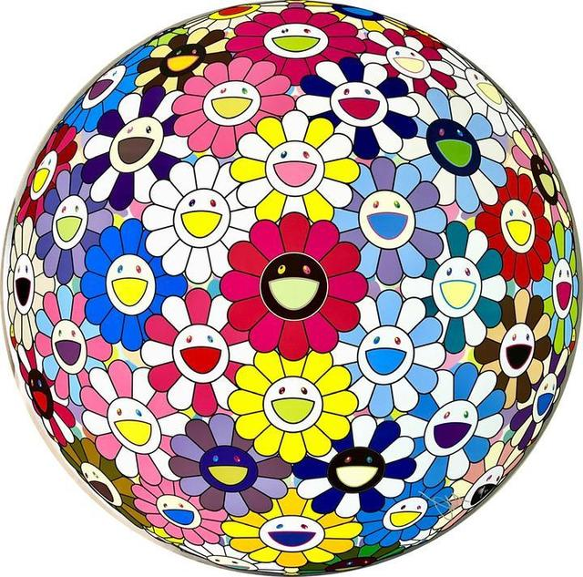 Takashi Murakami, 'Space Show', 2017, Vogtle Contemporary