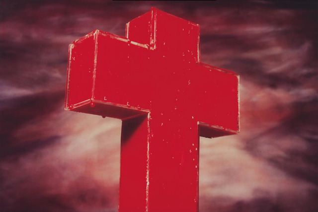 , 'Blood Cross,' 1985, Giampaolo Abbondio