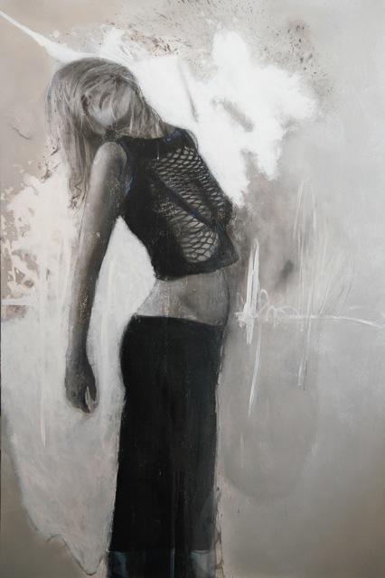 Virginie Bocaert, 'Laisser entrer la lumière', 2015, Painting, Mixed media on board, Thompson Landry Gallery