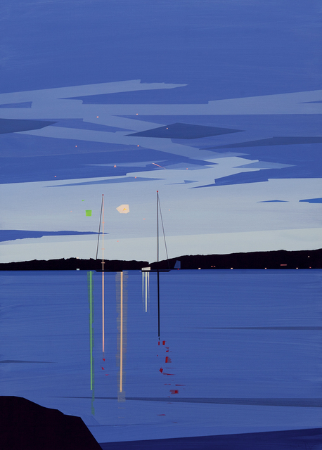 , 'Camden Fireworks from Shermans Point ,' , Dowling Walsh