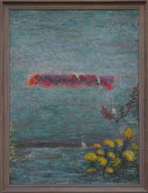 , '野海与秋千 La mer sauvage et la balancoire,' 2013, Amy Li Gallery