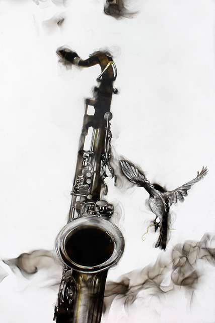 , 'Smoky Saxophone,' 2015, Adelson Galleries