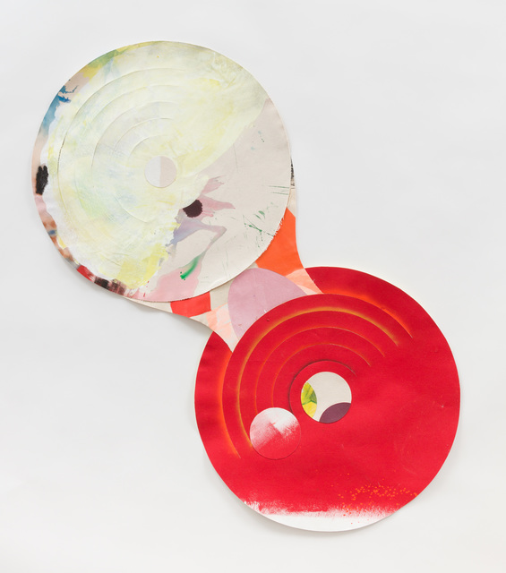 , 'Red Circle,' 2018, devening projects