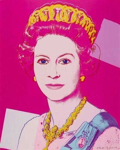Andy Warhol, 'Queen Elizabeth II of the United Kingdom (Royal Edition) (FS.II.336A)', 1985, Print, Screenprint in colours with diamond dust on Lenox Museum Board, Puccio Fine Art