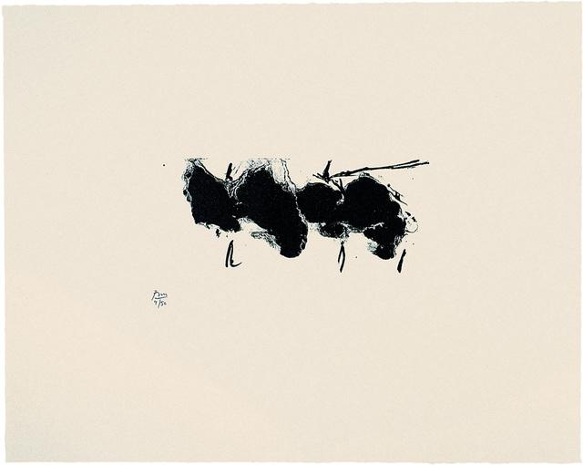 , 'Automatism Elegy (State II Buff),' 1980, Bernard Jacobson Gallery