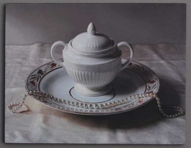 , 'Wedgewood Pot and Pearls 2014,' 2014, Nancy Hoffman Gallery