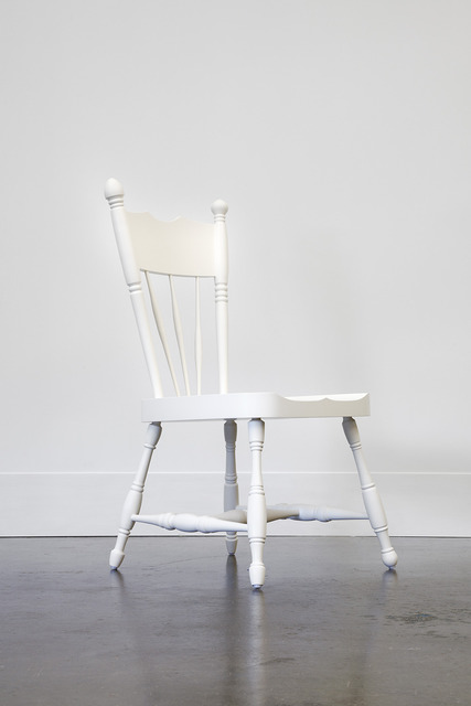 , 'A New White Chair from a Dark Old House,' 2014, Domestic Furniture