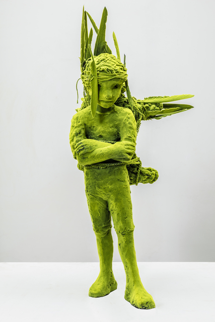 , 'Mossboy with Pet,' 2016, Jason Jacques Gallery