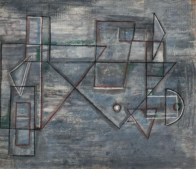 , 'Formas Geométricas,' 1938, Galería de las Misiones