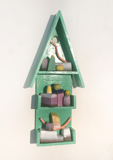 , 'casita verde,' 2019, Miranda Bosch