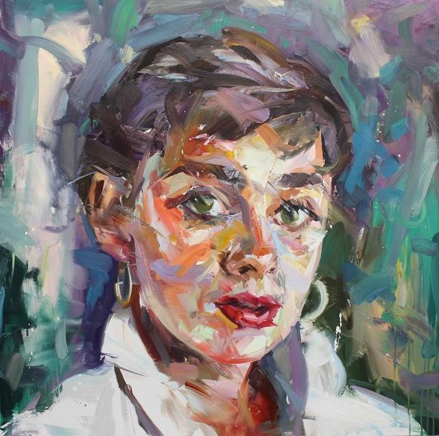 , 'Audrey Hepburn ,' 2017, Maddox Gallery