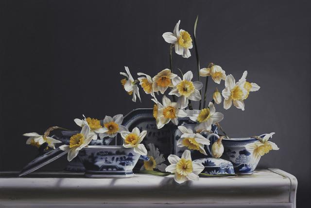 , 'Canton and Daffodils,' 2019, William Baczek Fine Arts