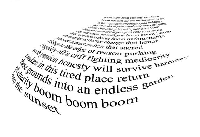 , 'The Urgency (poem),' 2011-2012, Heather Gaudio Fine Art