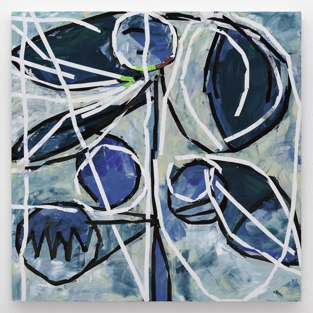 Heimo Zobernig, 'Untitled ', 2018, Painting, Acrylic on canvas, Simon Lee Gallery