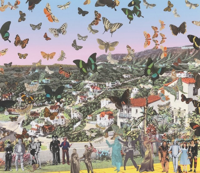 Peter Blake, 'Homage to Damien Hirst: The Butterfly Man Hollywoodland', Rhodes
