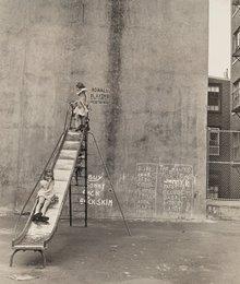 Untitled (Children on Slide)