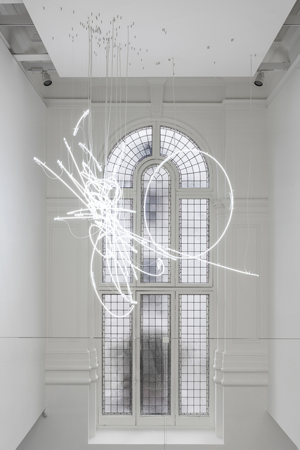 , 'Neon Form (after Noh XIII),' 2018, Marian Goodman Gallery