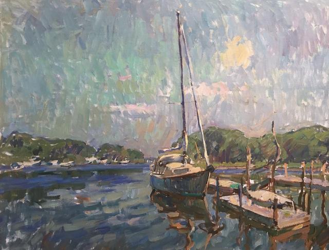 , 'Shelter Island Creek,' 12000, Grenning Gallery