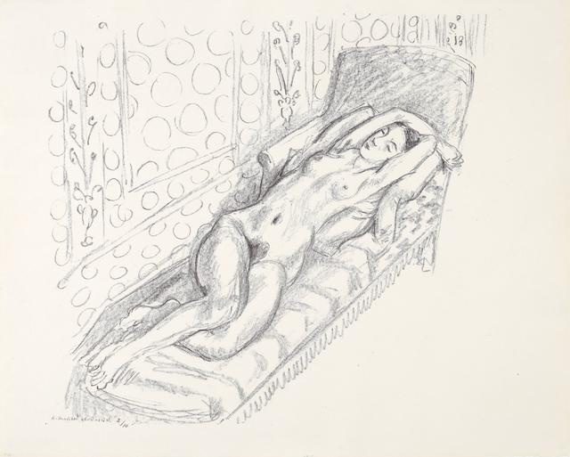, 'La sieste,' 1922, Bernard Jacobson Gallery