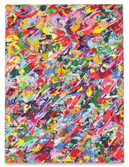 David Allan Peters, 'Untitled #15', 2020, Painting, Acrylic on panel, Miles McEnery Gallery