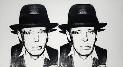 Andy Warhol, 'Joseph Beuys', 1980, Print, Silkscreen on paper, Rudolf Budja Gallery