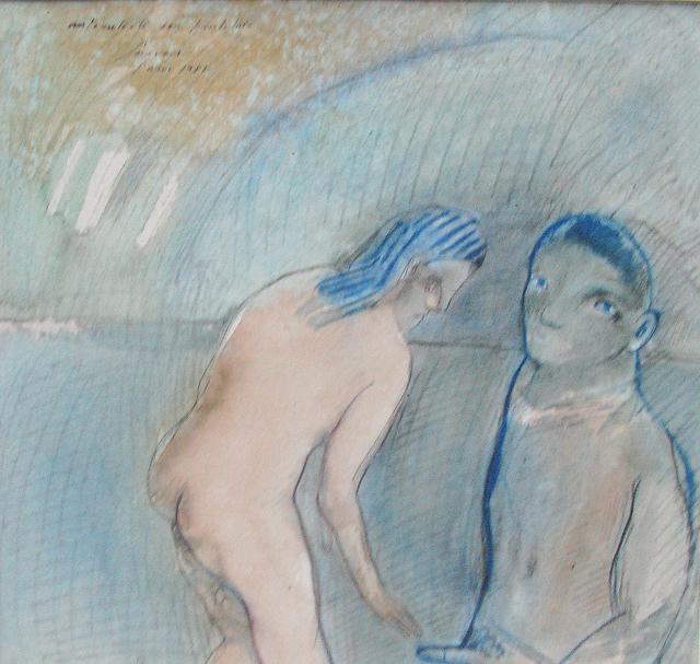 , 'Autorretrato con prostituta,' 1981, Oscar Roman