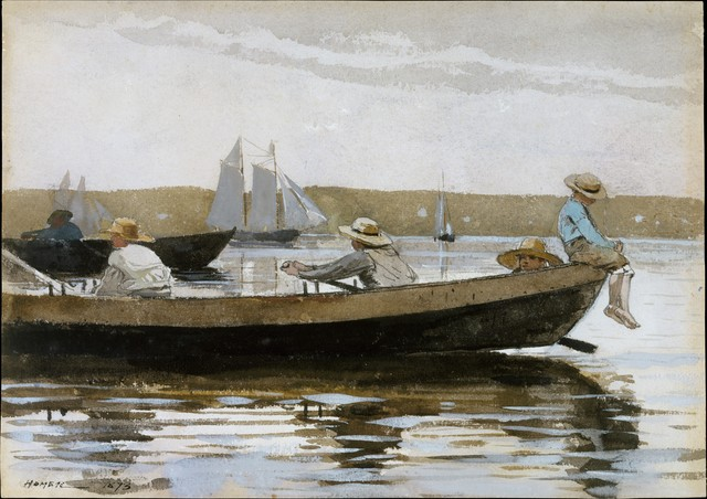 Winslow Homer, 'Boys in a Dory', 1873, The Metropolitan Museum of Art
