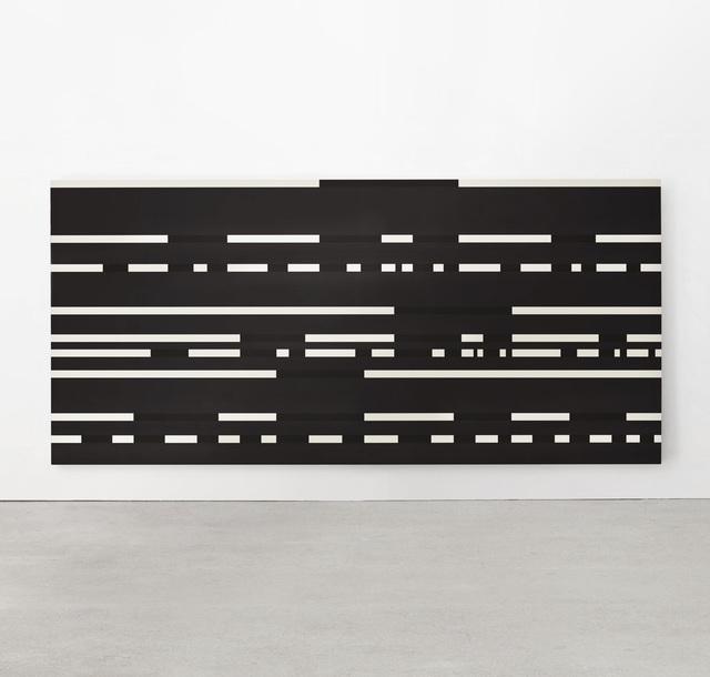 , 'Dot Dash Painting on Black,' 1977, W. Alexander