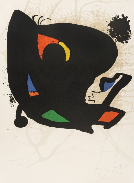Joan Miró, 'Affiche pour Exhibition Miro L'Œvre Graphique (Mourlot 947)', 1974, Forum Auctions