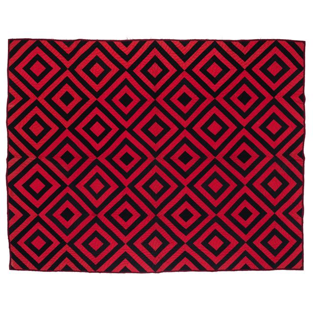 'Diamonds', 1900, Textile Arts, Coton, PIASA