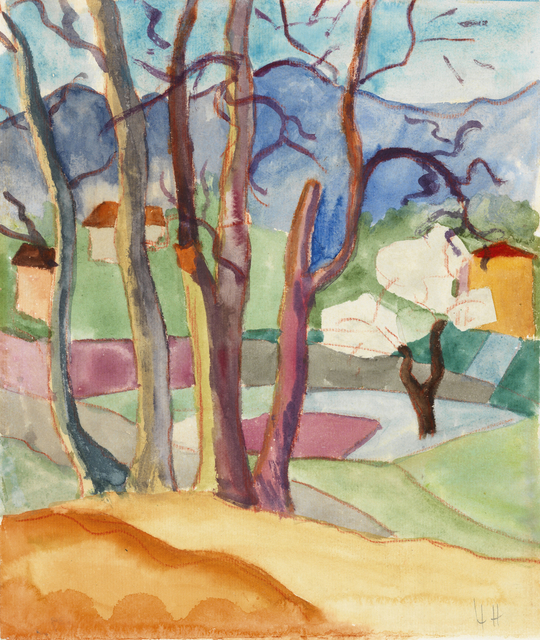 , 'Tessin im Frühling,' 1923, Ludorff
