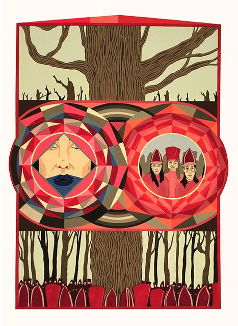 , ''Pugachov's Oak.',' 2016, MARS