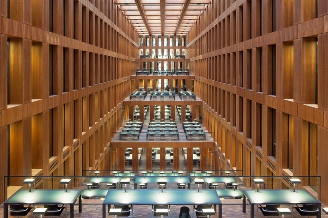 , 'Jacob and Wilhelm Grimm Library, Berlin,' 2010, K + Y Gallery