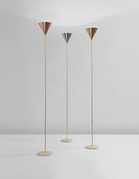 "Set of three ""Imbuto"" floor lamps"