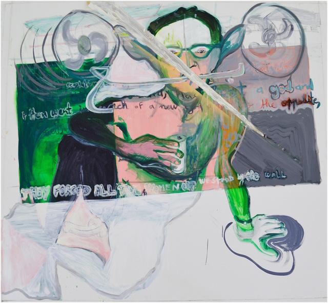 , 'Ventilator Man,' 2014, Sfeir-Semler