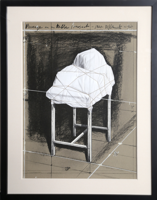 , 'Package on a Table (Project 1961-88),' 1988, RoGallery