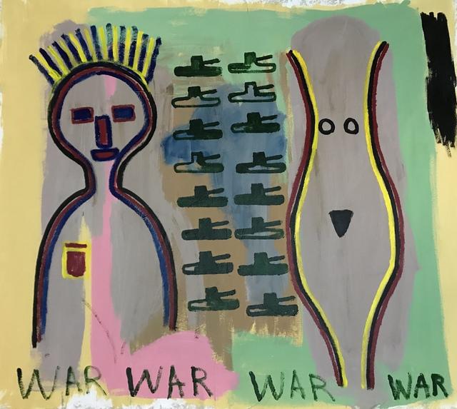 , 'War,' 2018, MOVART