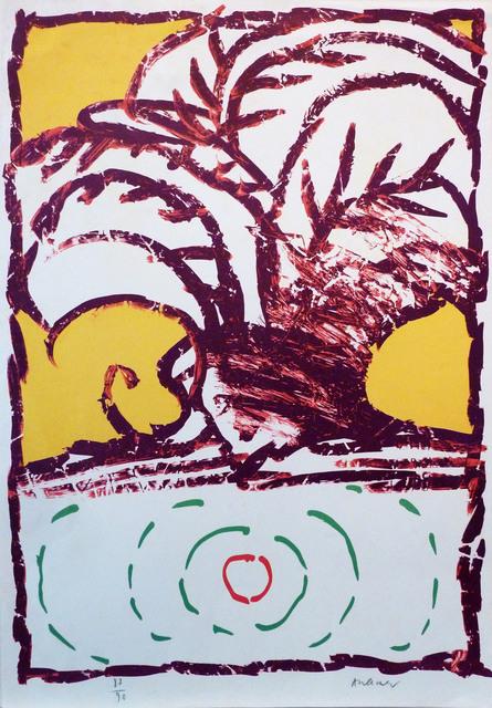 Pierre Alechinsky, ' Sans titre', ca. 1970, Le Coin des Arts