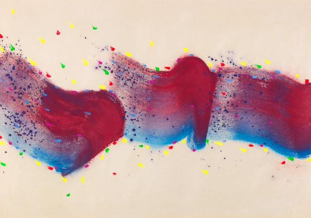 Hsiao Chin 蕭勤, 'Vento Cosmico - 28 (Cosmic Wind - 28) ', 1988, Lex Art Gallery