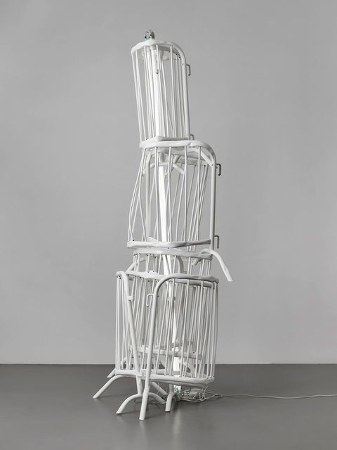 , 'Double Monument for Flavin and Tatlin XIV,' 2014, Phillips Collection