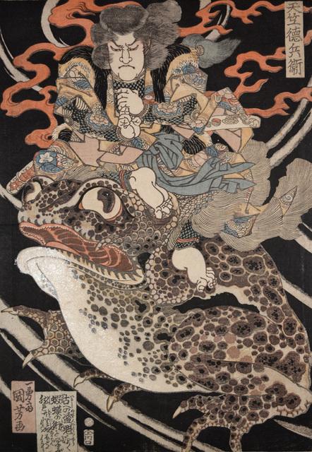 Utagawa Kuniyoshi, 'Tenjiku Tokubei', ca. 1828, Ronin Gallery