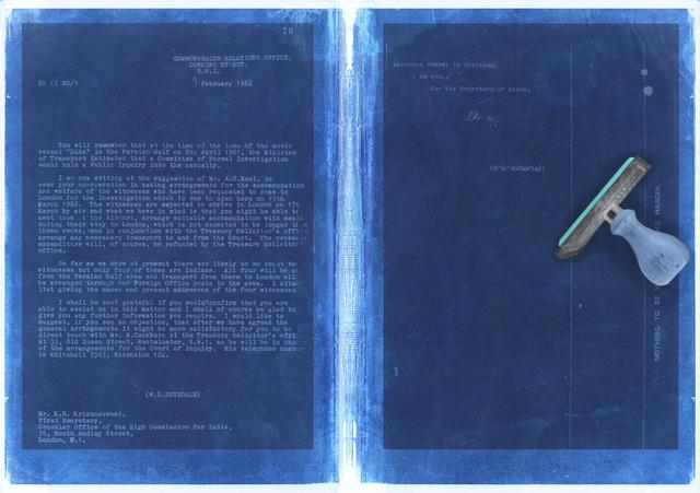 , 'Trading Correspondences III.,' 2013, Etihad Modern Art Gallery