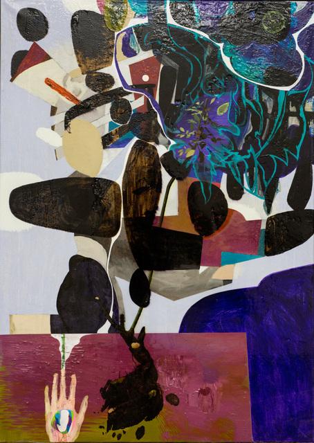 , 'Roten,' 2015, Galleri Brandstrup