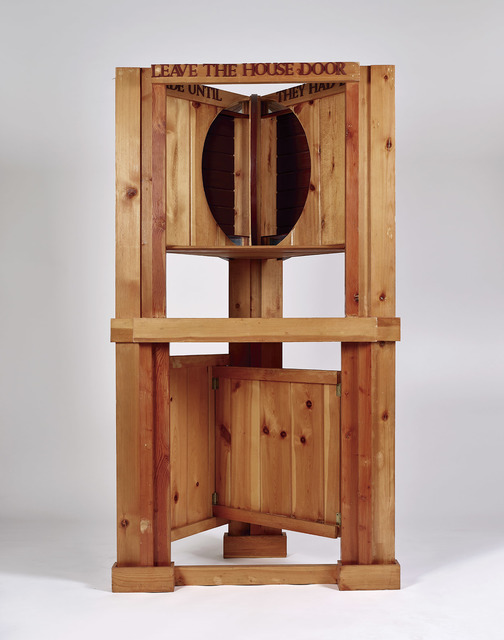 Siah Armajani, 'Dictionary for Building: Fireplace Mantel with Window', 1982-1983, Rossi & Rossi