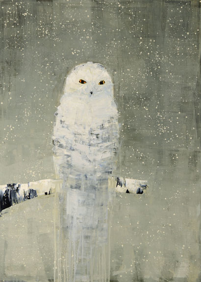, 'Snowy Owl,' 2015, Clark Gallery