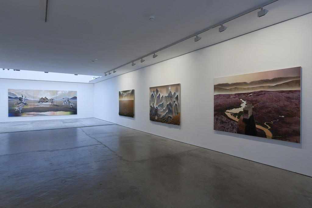 "Installation view, ""Gordon Cheung: The Abyss Stares Back"", Edel Assanti 2015"